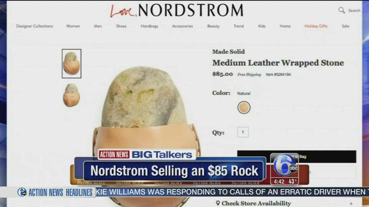 VIDEO: Nordstrom selling rock online