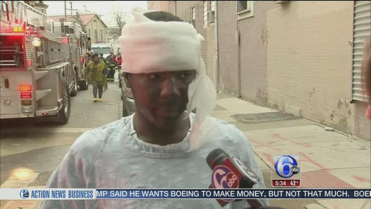 VIDEO: 9 injured, 20 displaced by Frankford fire