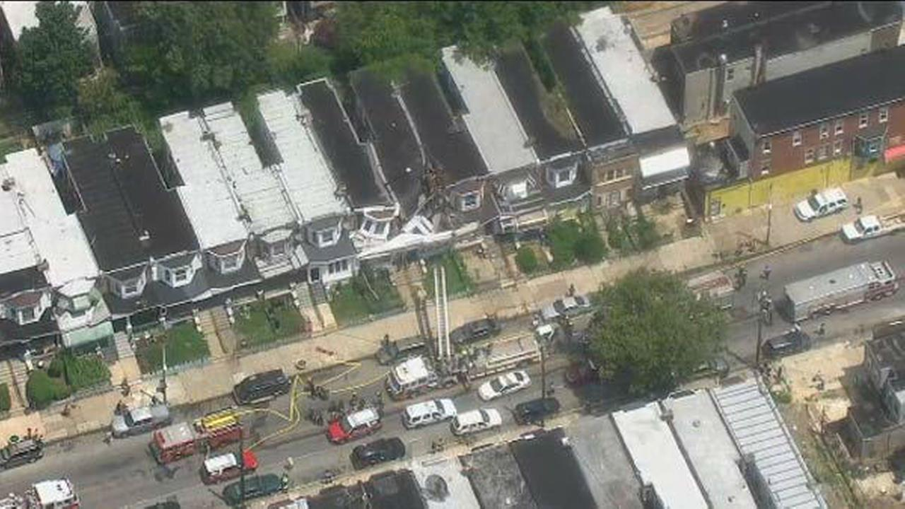 PHOTOS: Cobbs Creek house collapse