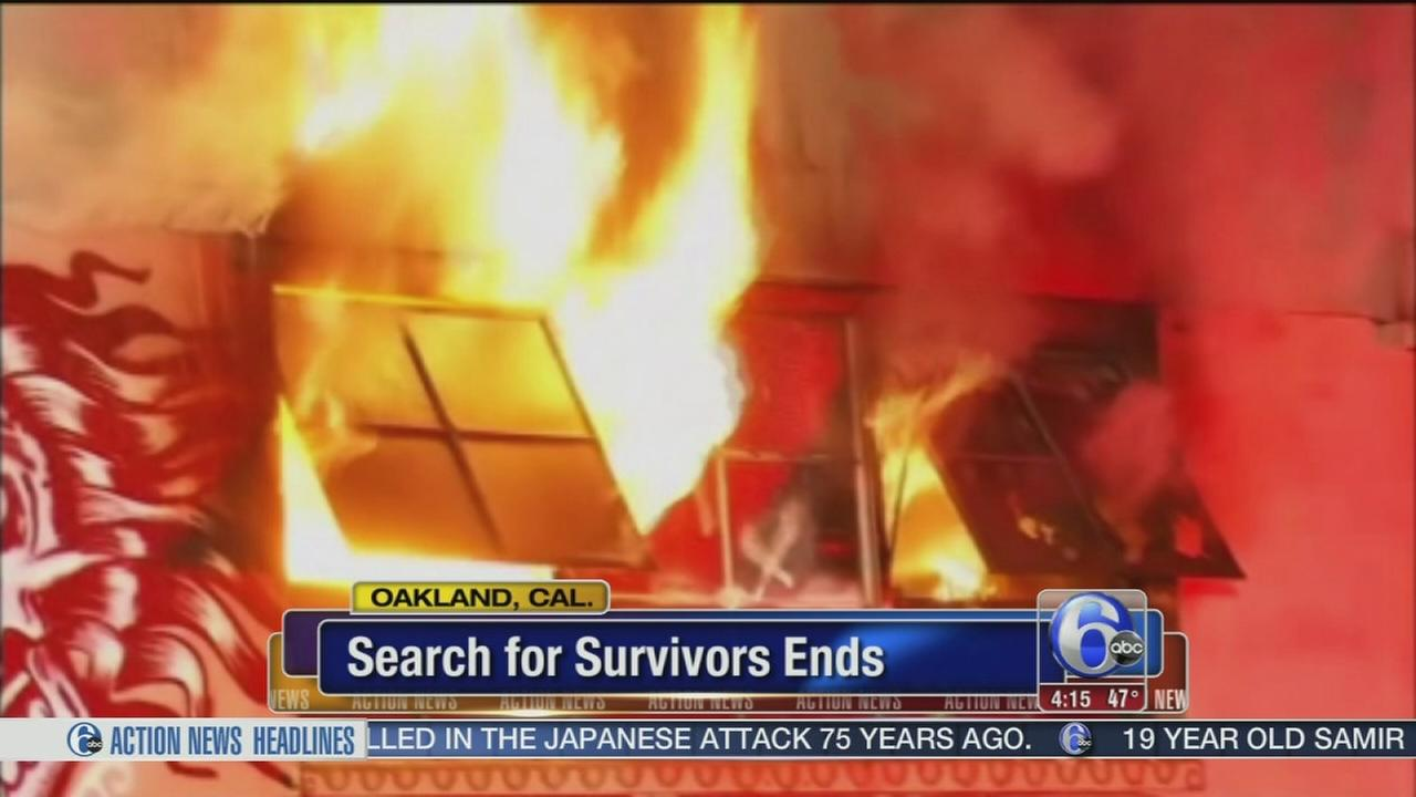 VIDEO: Search for survivors ends in Oakaland