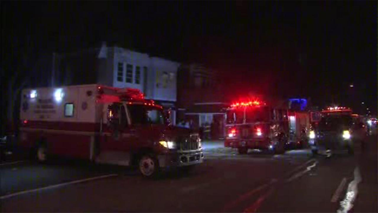 A man was critically injured in a house fire in Northeast Philadelphia.