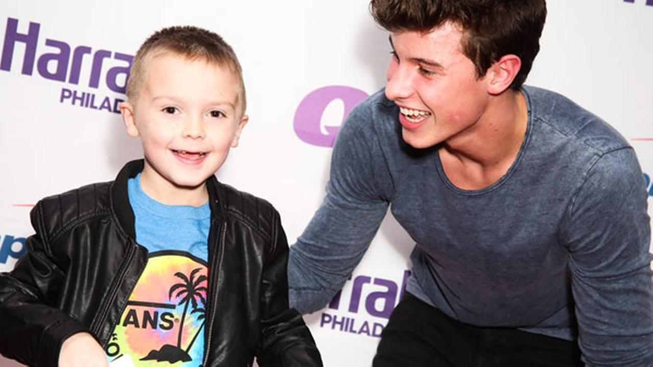 Jaxson, 7, is a huge Shawn Mendes fan.