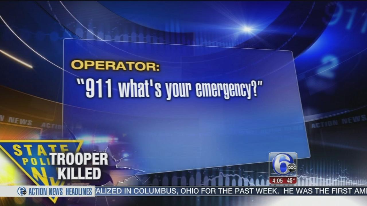 VIDEO: 911 calls released from crash that killed NJ trooper