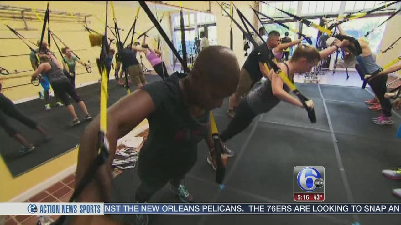 VIDEO: Suspension training new trend