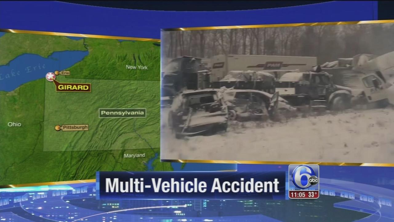 VIDEO: 15 hurt in multi-vehicle crash