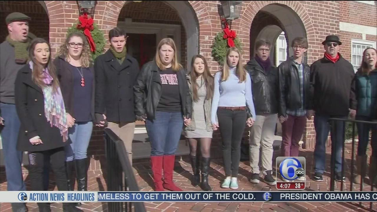 VIDEO: Students hold singing protest