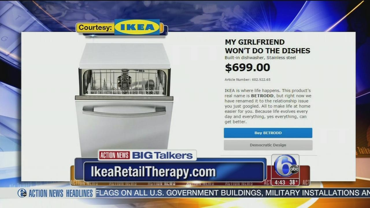 VIDEO: Ikea campaign replaces product names with hilarious relationship problems