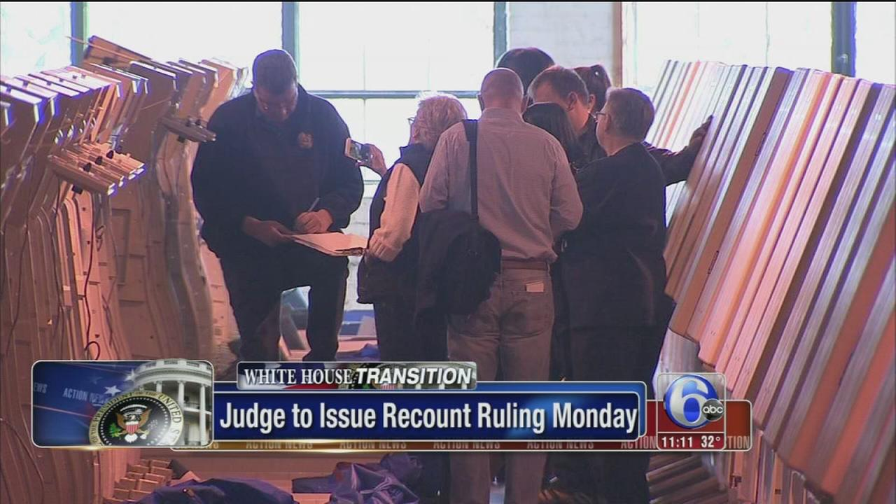 VIDEO: Pa. recount