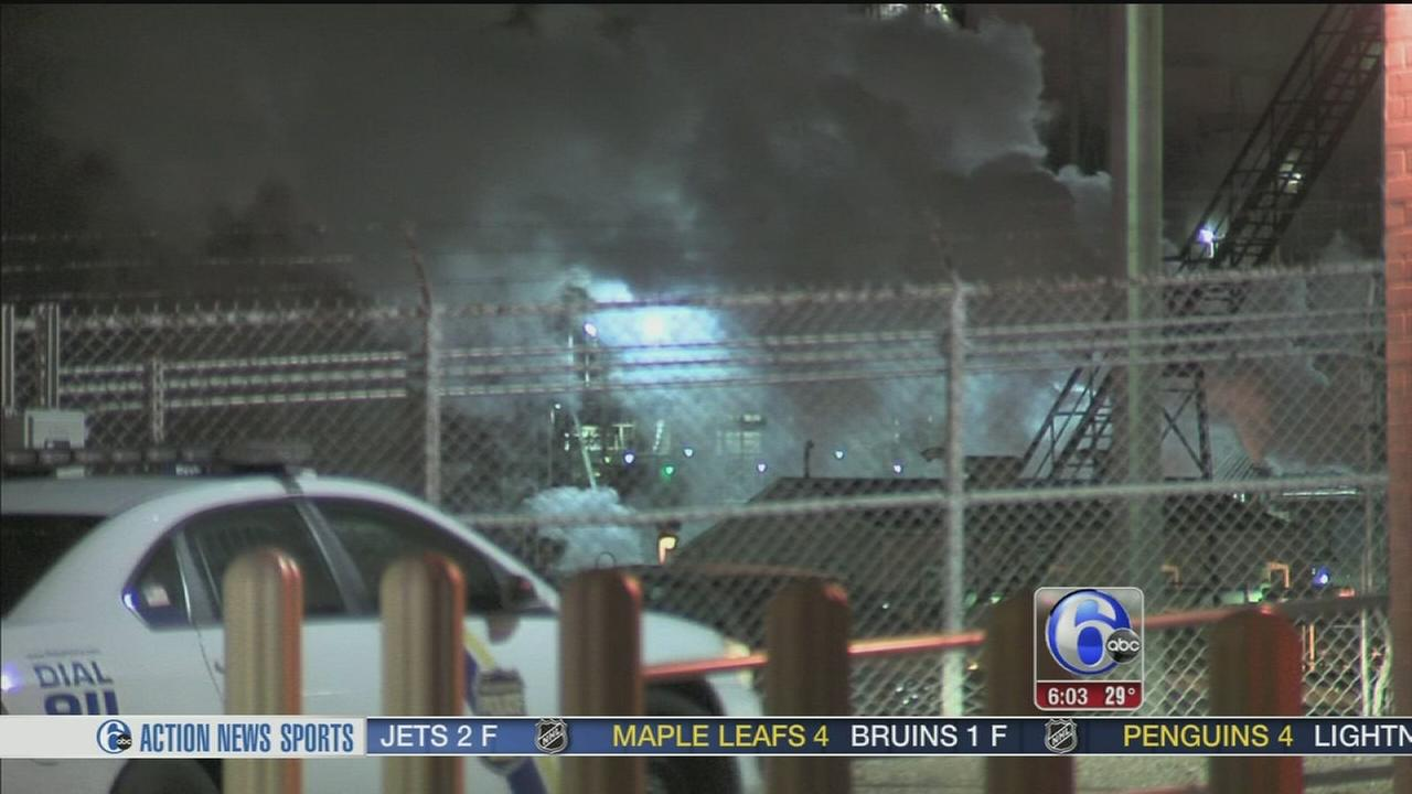 VIDEO: Firefighters called to South Philadelphia refinery complex