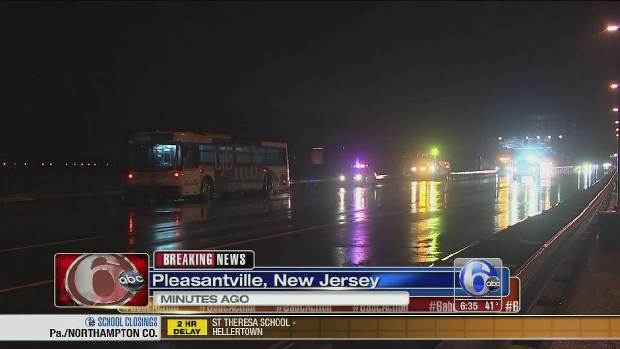 VIDEO: Deadly crash involving NJ Transit bus