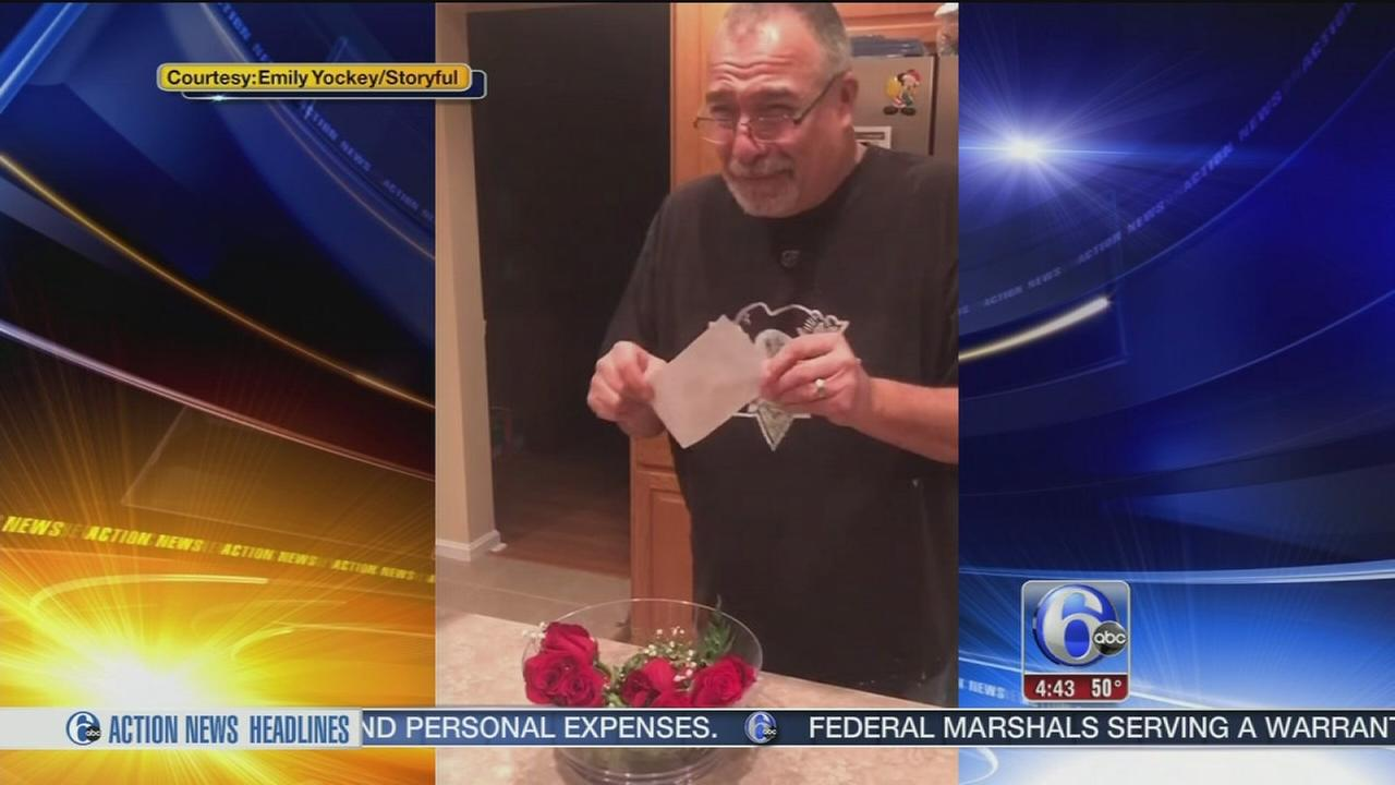VIDEO: Wife of life-long Penn State fan surprises him with Rose Bowl tickets