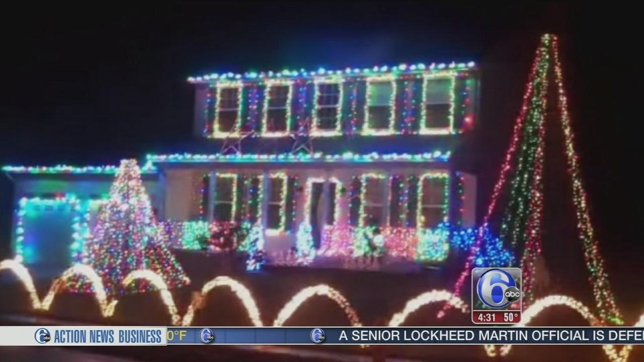 Donations stolen from Christmas display in Burlington Twp.