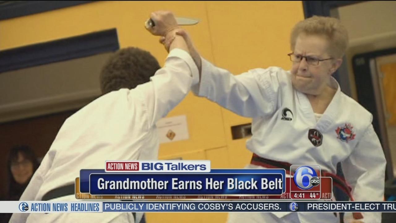 72-year-old grandmom earns black belt in Taekwondo
