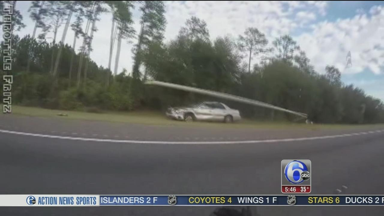 Driver suffers stroke on Florida highway