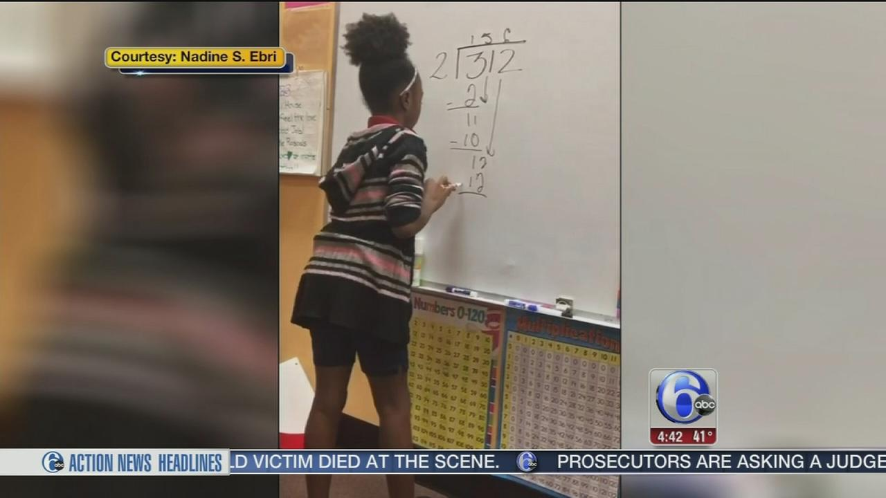 Students create song about math in viral video