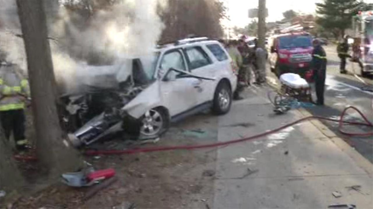 Delaware State Police are investigating a fatal crash involving a burning vehicle in Woodcrest.
