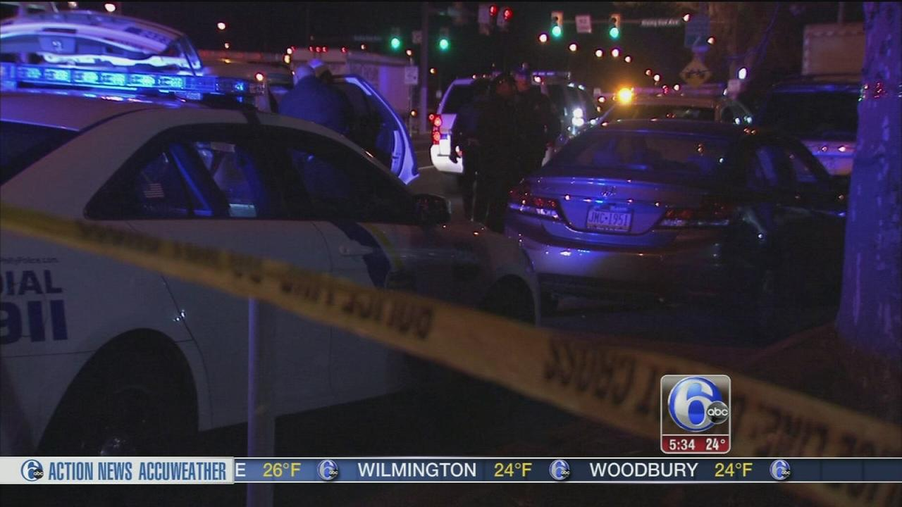 Shots fired at police after robbery