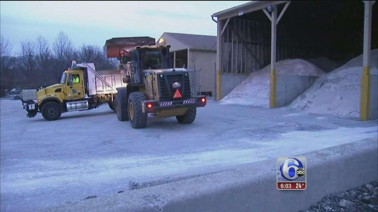 Road crews, residents prepare for snow