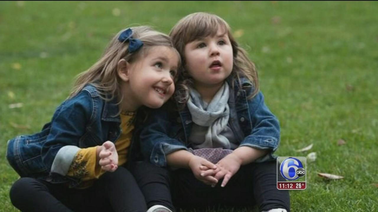 2 toddlers with rare disease form