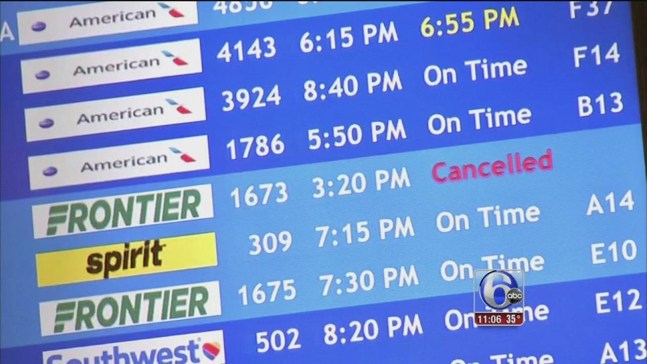 Local travelers feel effects of wintry weather