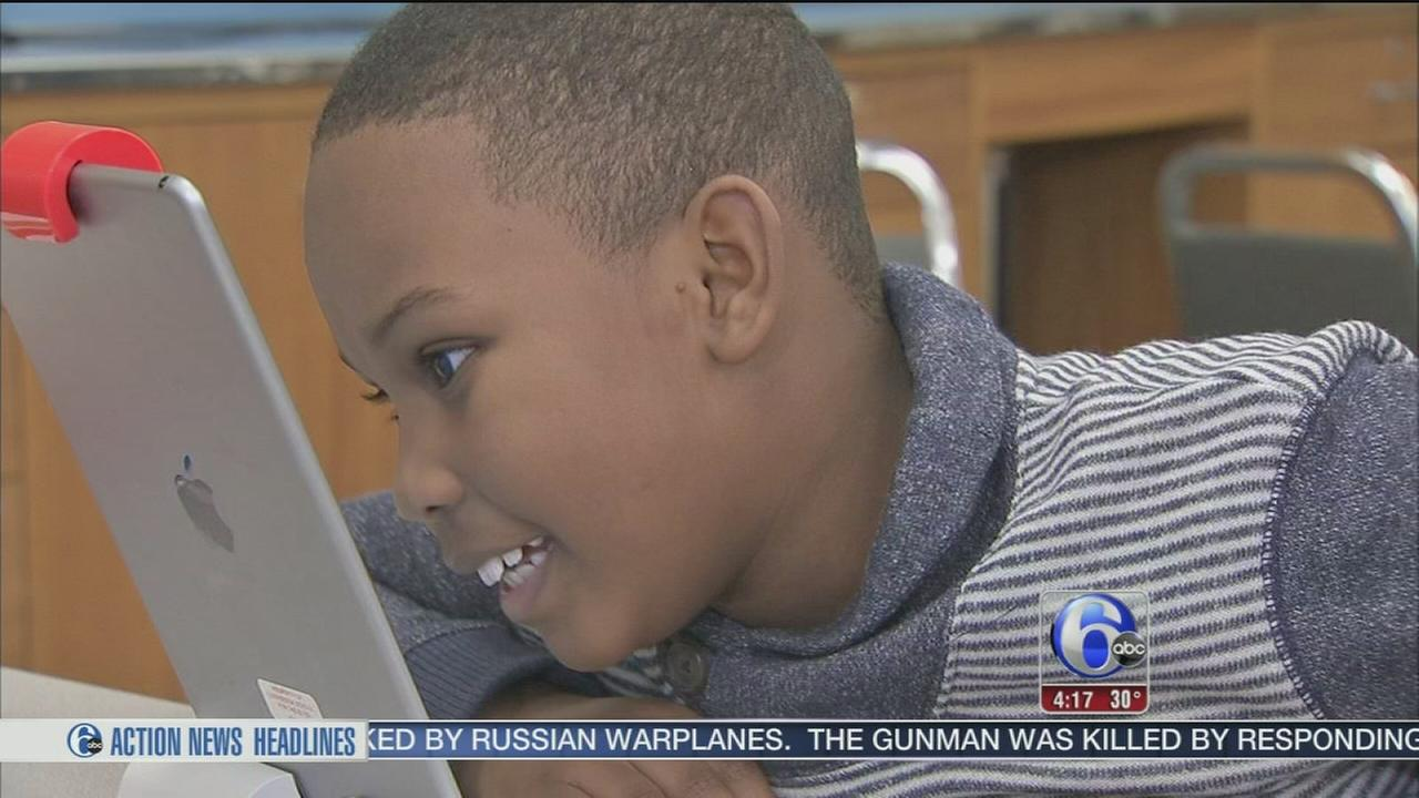 VIDEO: New tech helping visually impaired students