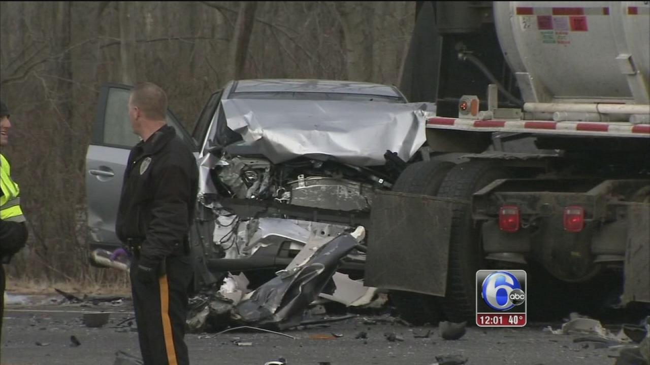 Several injured in multi-vehicle crash in Logan Twp.