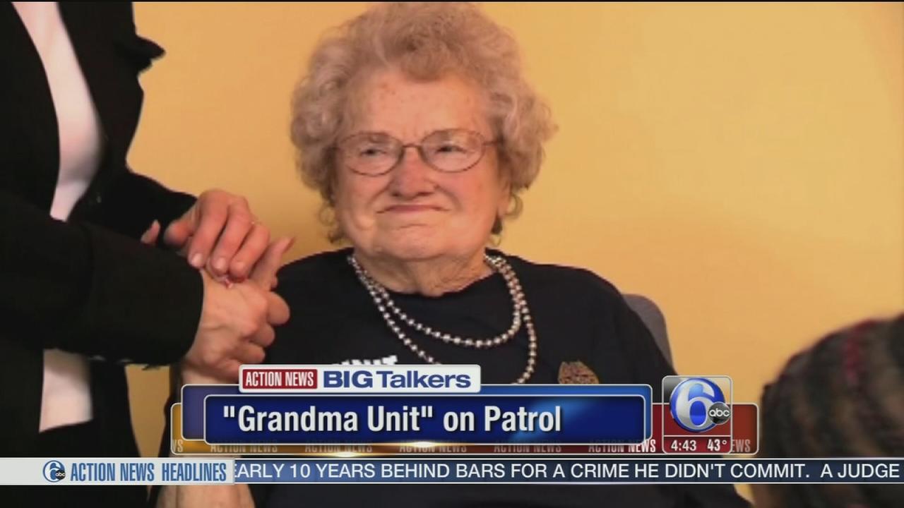 Police departments Grandma Unit enforces hugs