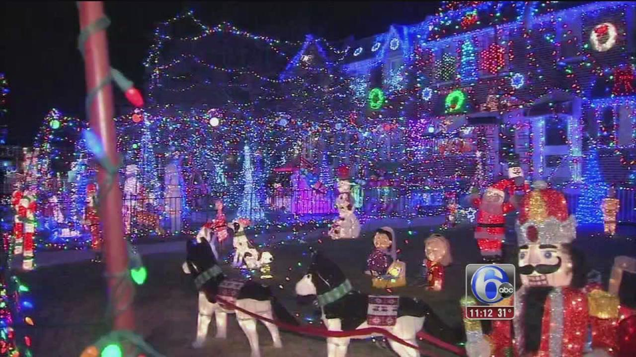 Light show for good cause in Tacony