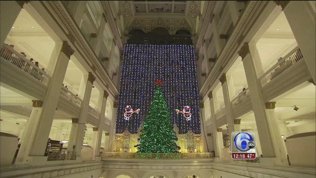Art of Aging: Macys Christmas Light Show