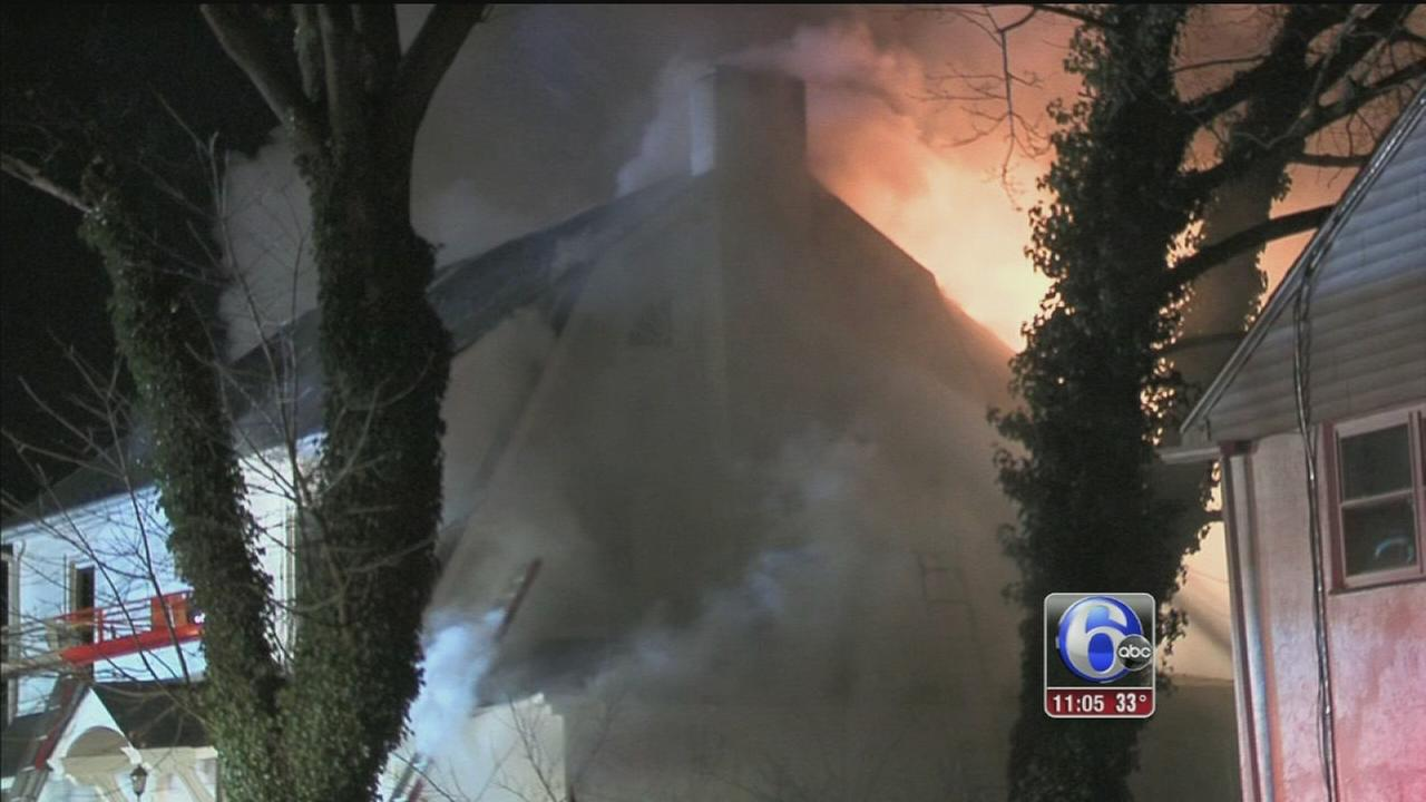 60 firefighters called to Upper Darby fire