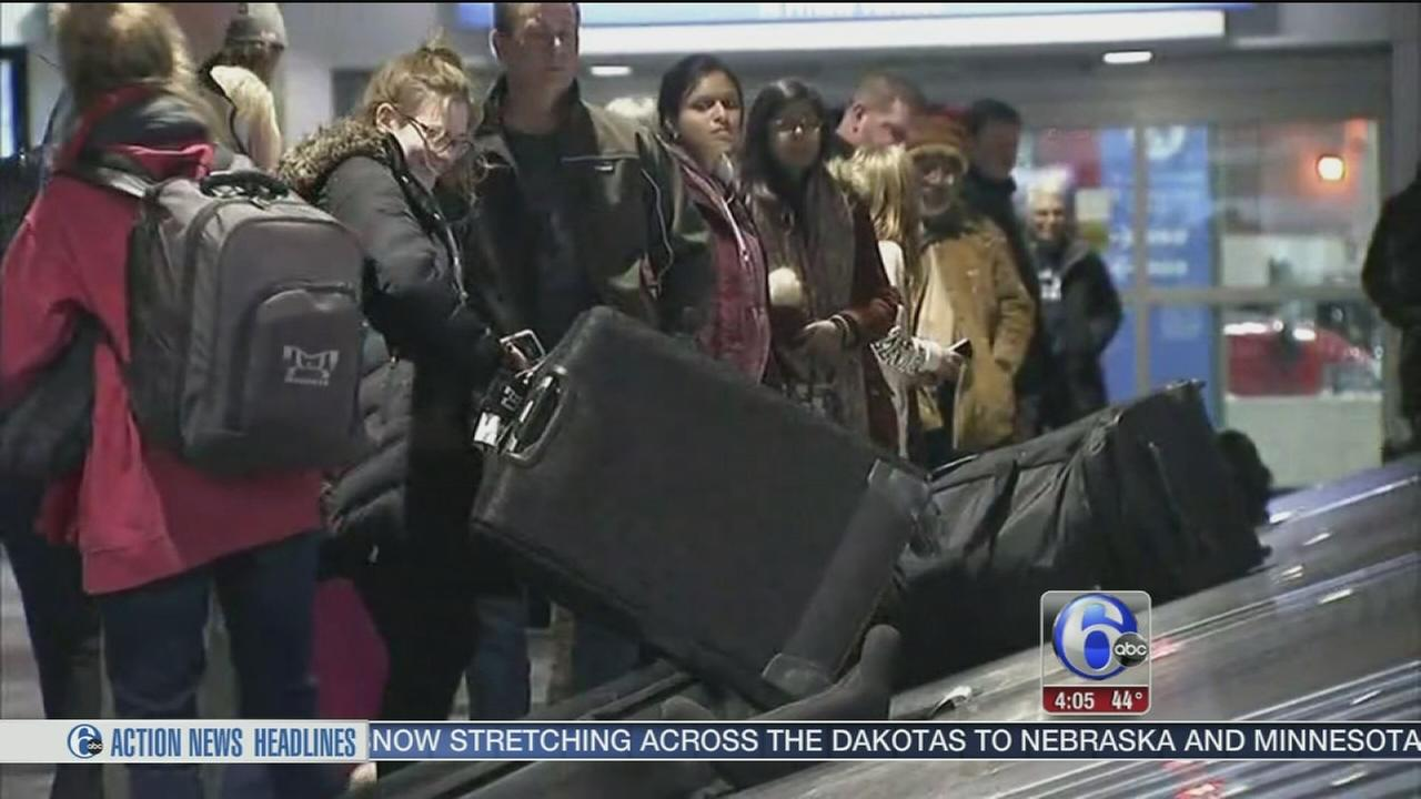VIDEO: Travelers head home after the holiday