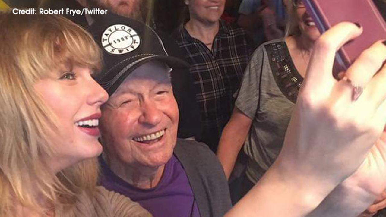Taylor Swift surprises 96-year-old World War II vet