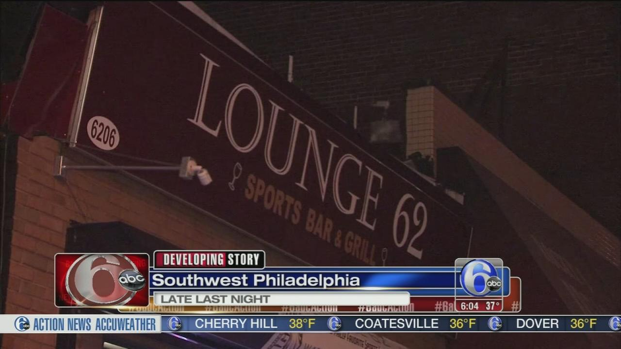 Argument leads to bar shooting in SW Philly