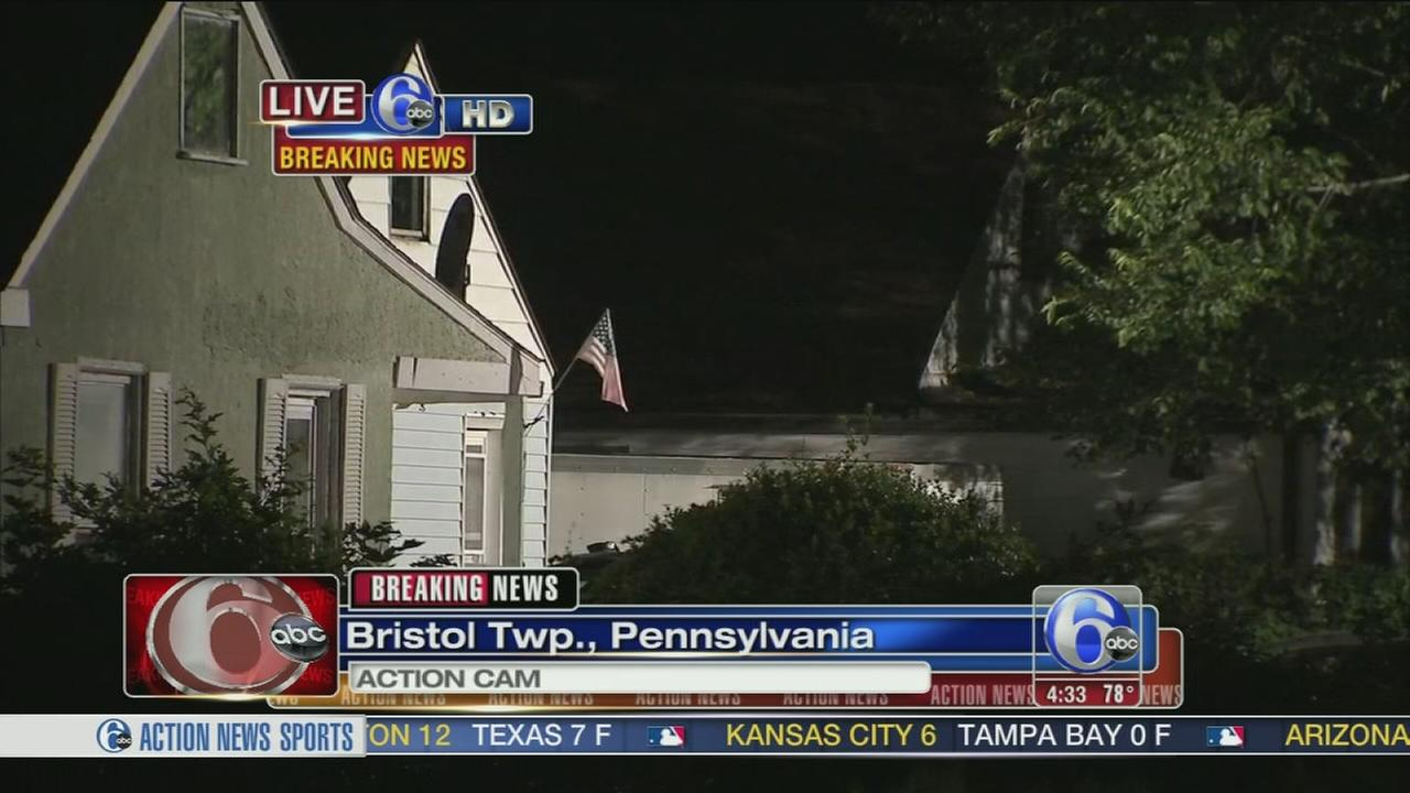 VIDEO: 1 dead in triple shooting in Bristol Twp., Pa.