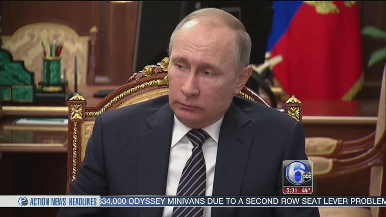 VIDEO: U.S. issues sanctions against Russia