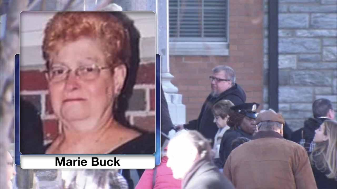 Funeral service held for Marie Buck