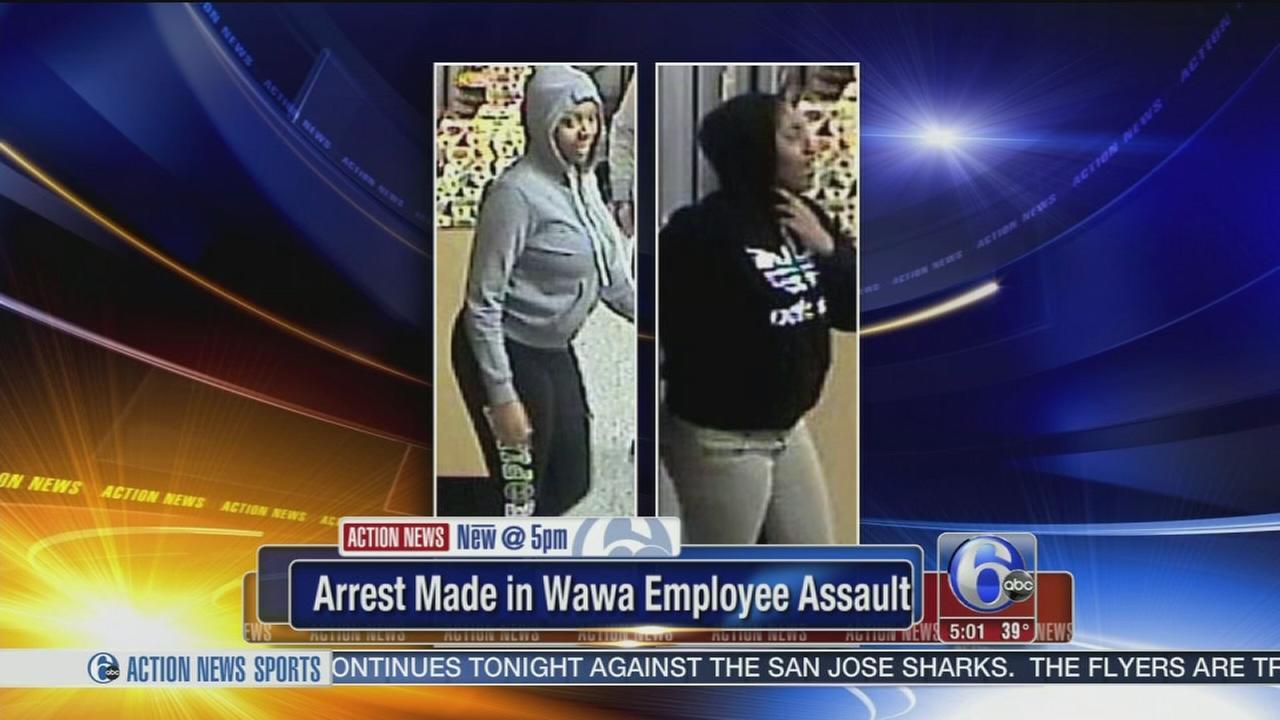 Arrest made in Wawa employee assault
