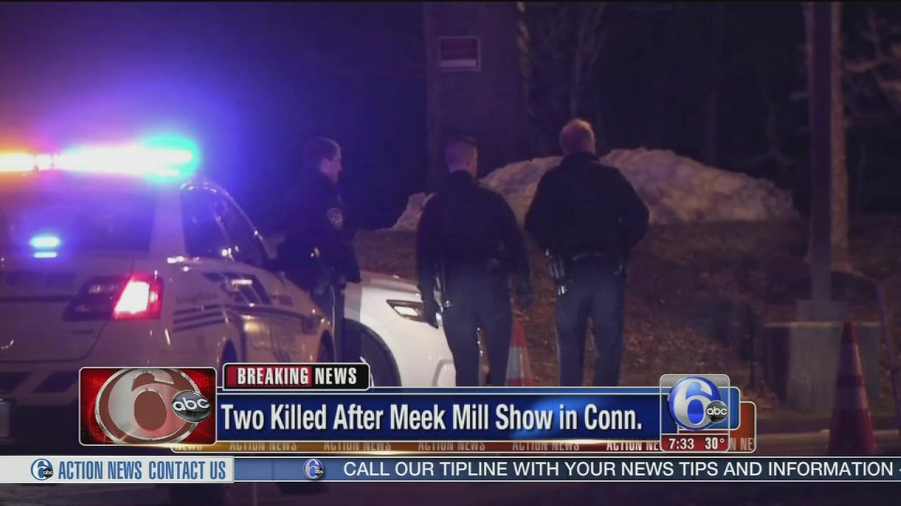 2 dead, 2 injured in shooting after Meek Mill concert