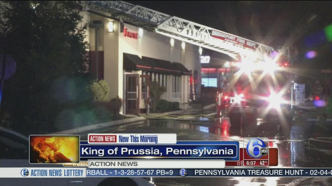 Fire at King of Prussia steakhouse