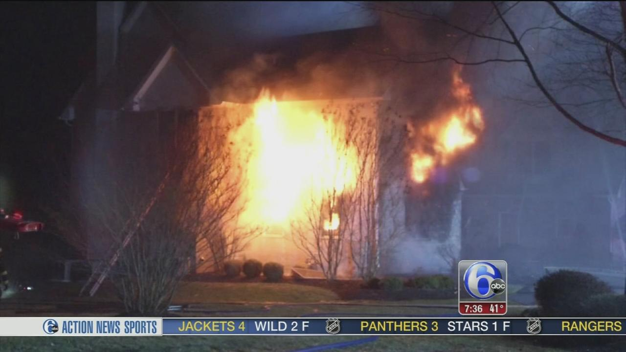 Fire in Middletown home