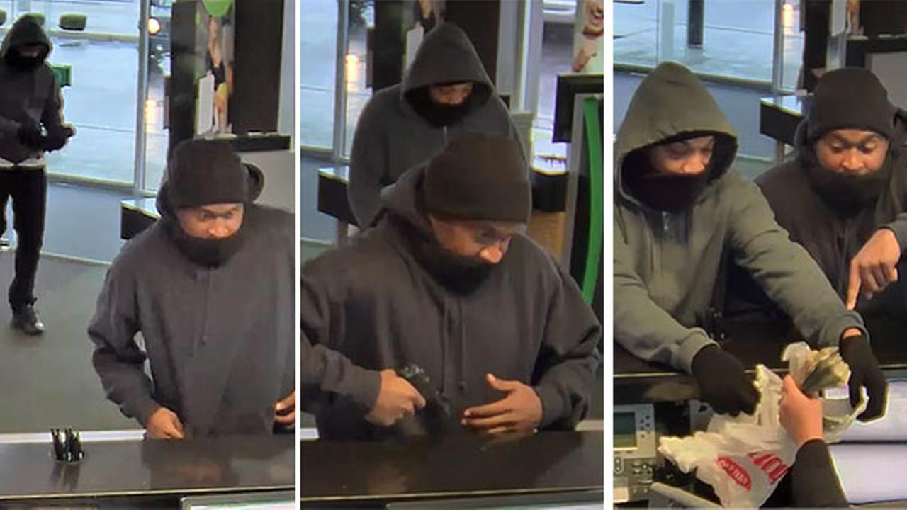 2 suspects sought in series of armed robberies