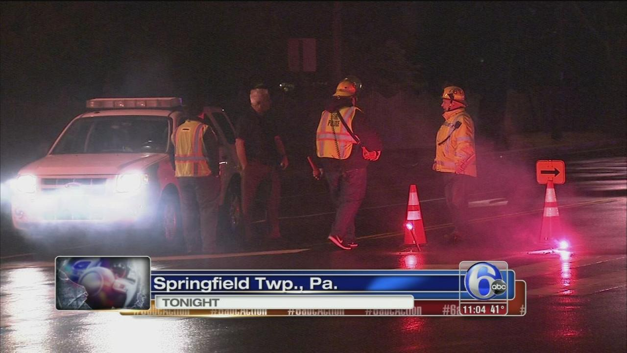 Pedestrian struck and killed in Springfield Twp.