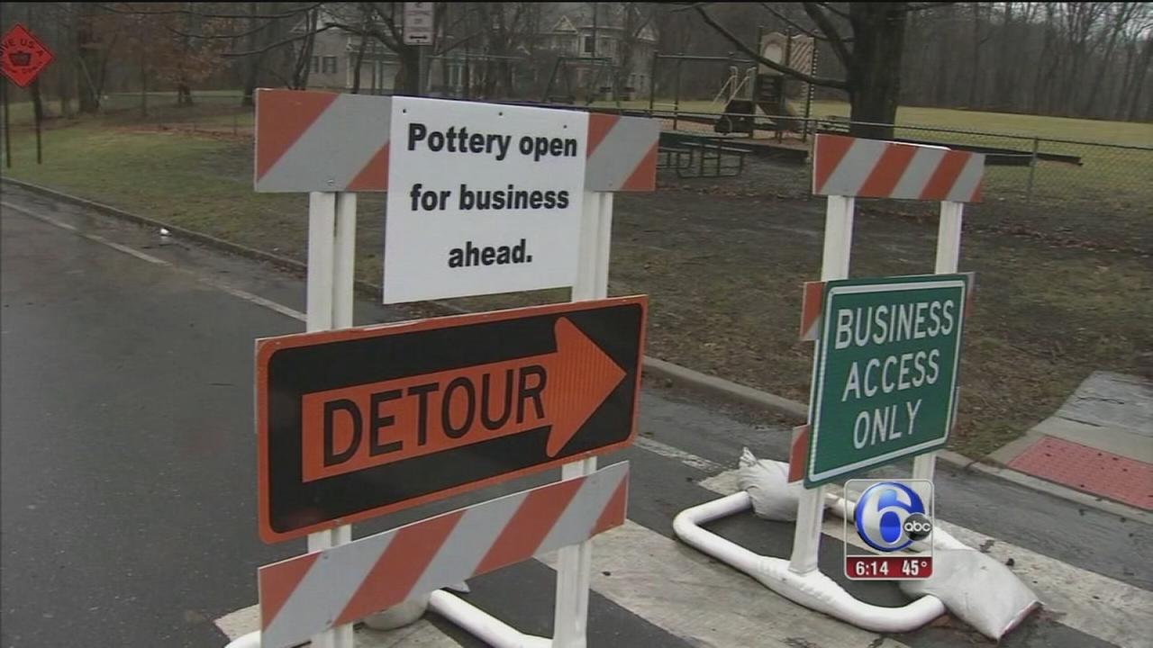Bridge repair disrupts New Jersey businesses