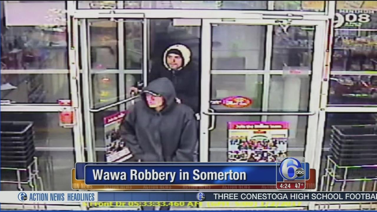Wawa robbery in Somerton