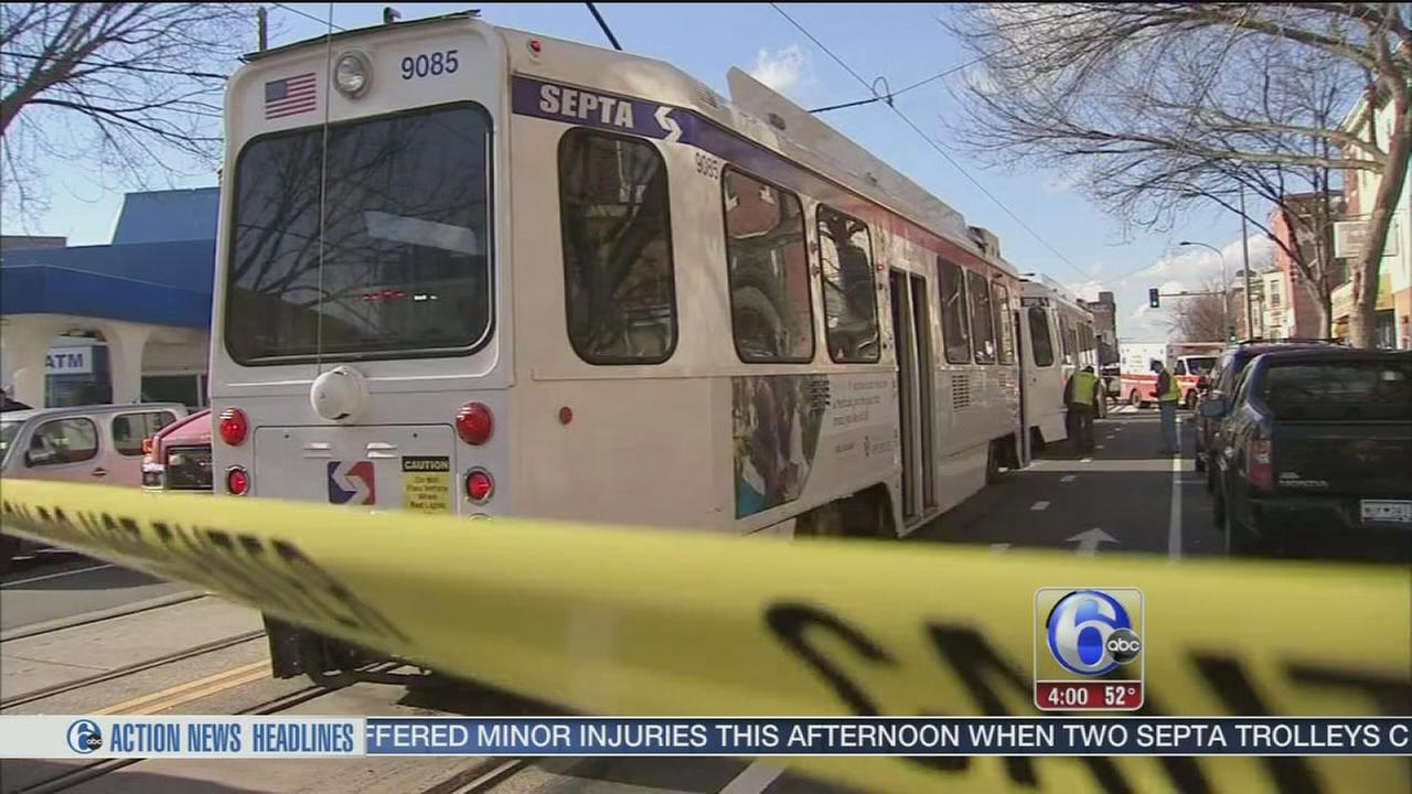 46 injured in trolley crash in Powelton