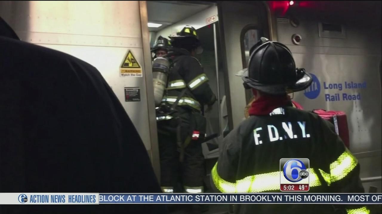 NTSB investigates NYC rail crash
