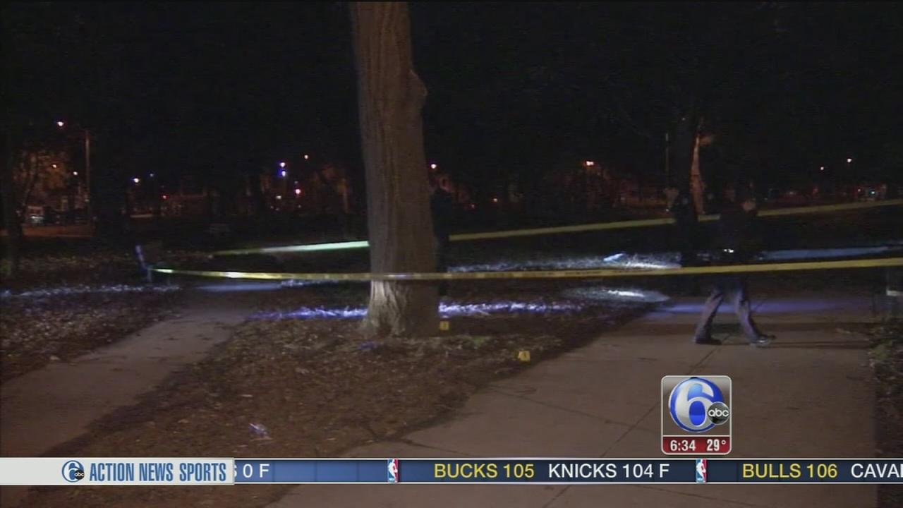 Man shot in West Philadelphia park