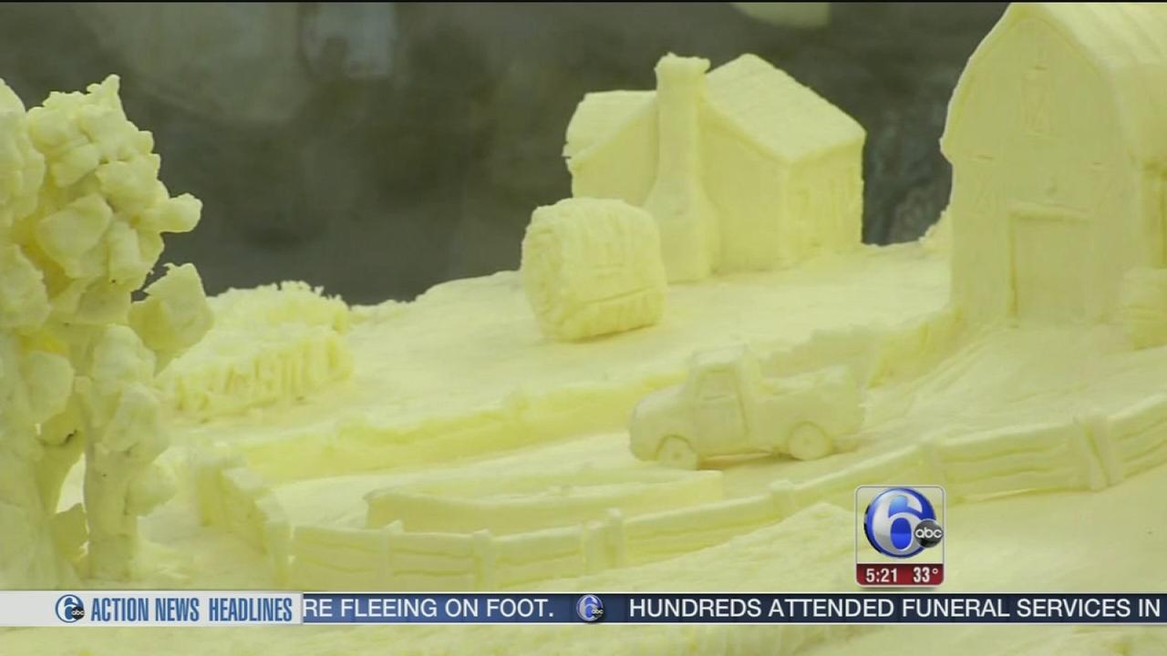 Butter Sculpture Preview