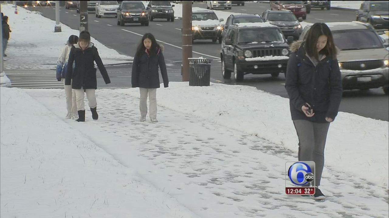 Mostly smooth sailing for commuters after snowfall
