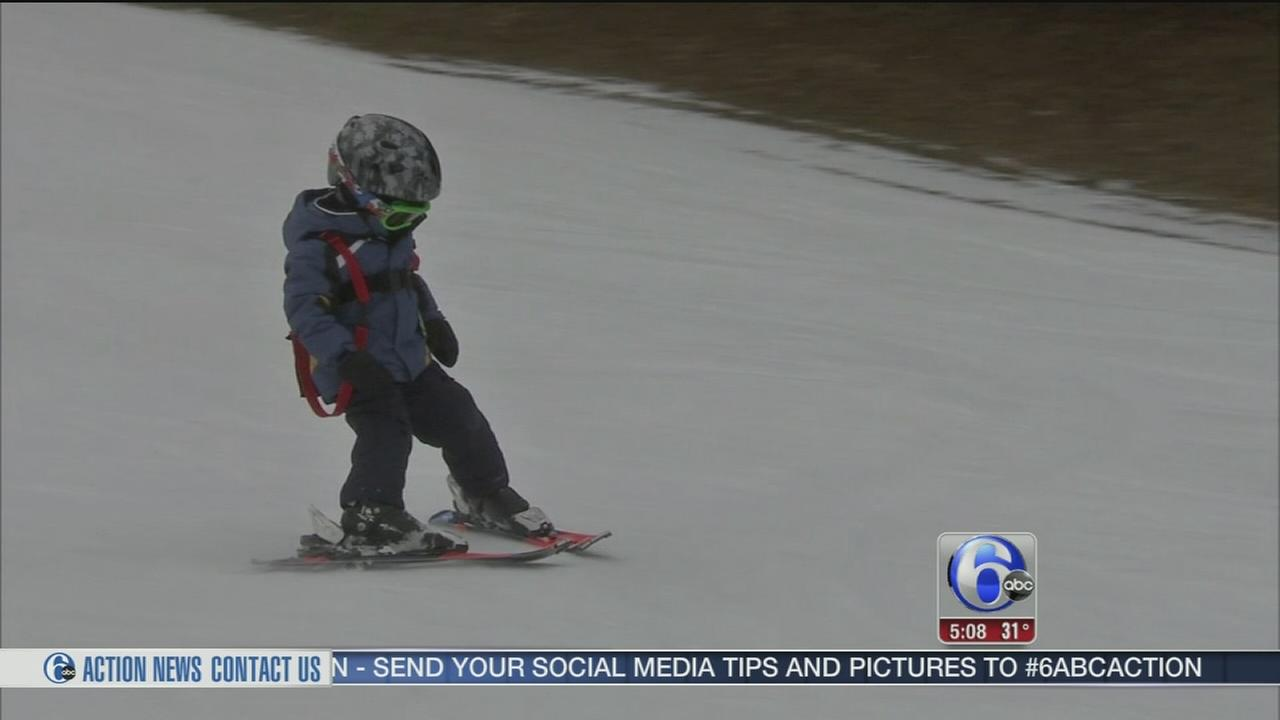 Winter weather a welcome sight for local skiiers